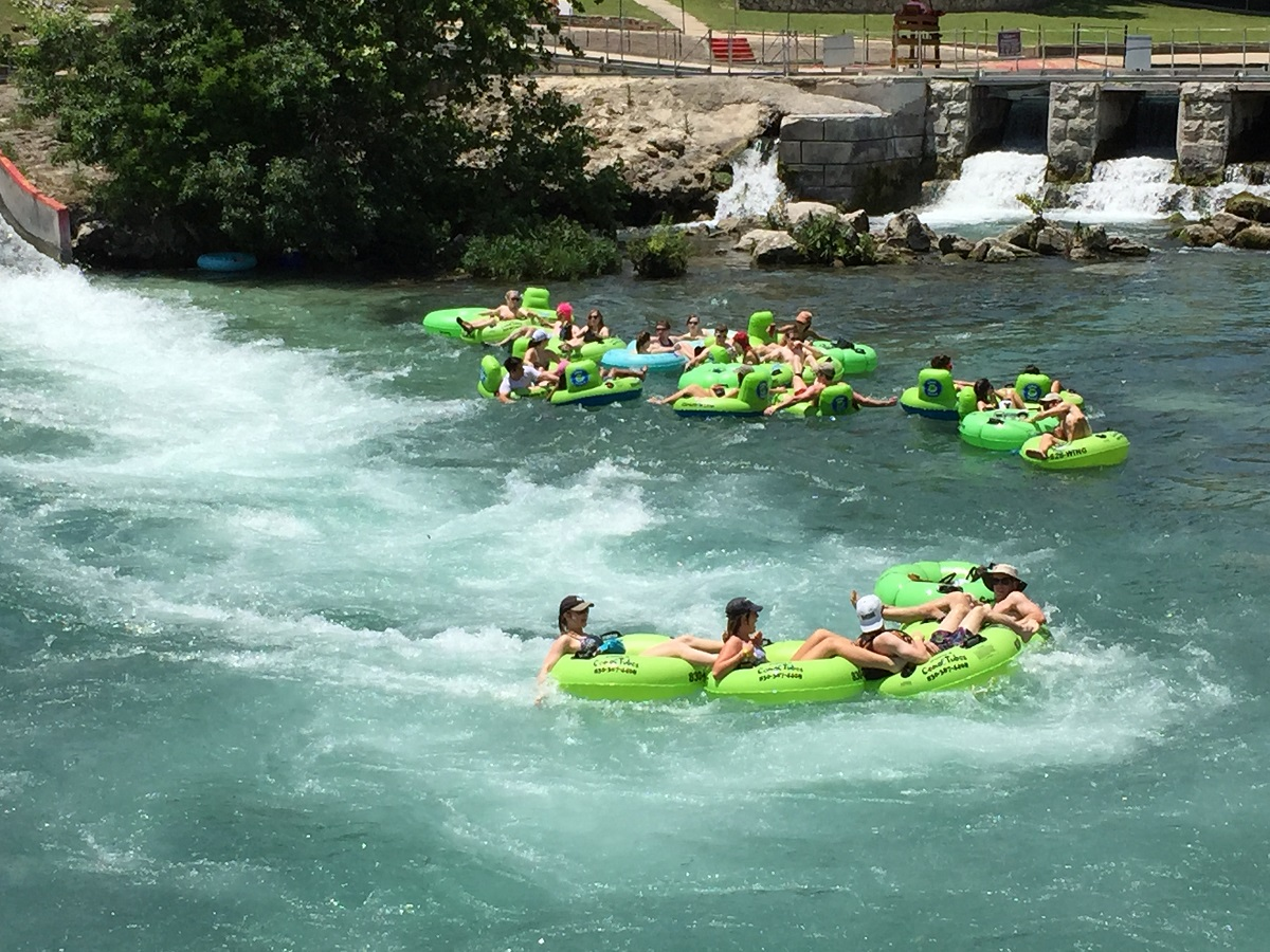 New Braunfels Tubing Comal River Tube Rental Float With Us
